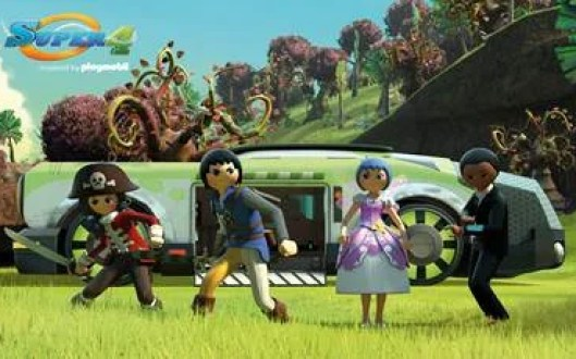 playmobil super 4 show on netflix