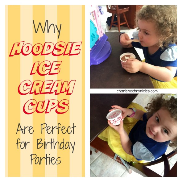 hoodsie ice cream cups birthday parties