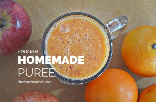 how to make homemade puree