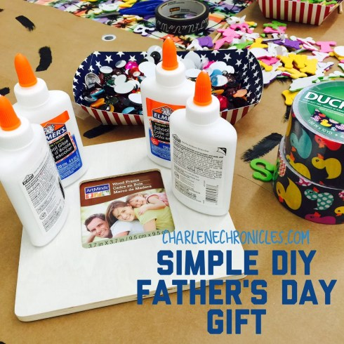 simple diy fathers day gift