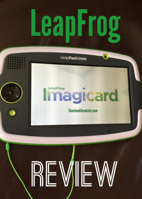 leapfrog leappad imagicard review