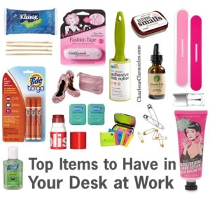 Items Desk Drawer Charlene Chronicles