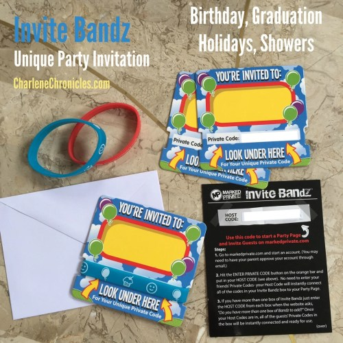 unique party invitations invite bandz