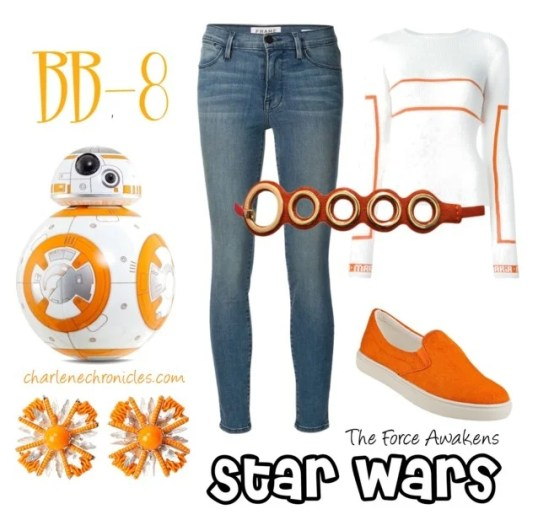 bb-8 star wars outfit costume idea