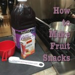 How to Make Your Own Fruit Snacks
