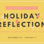 Holiday Reflection Questions