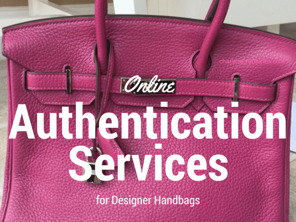 online authentication services for designer handbags
