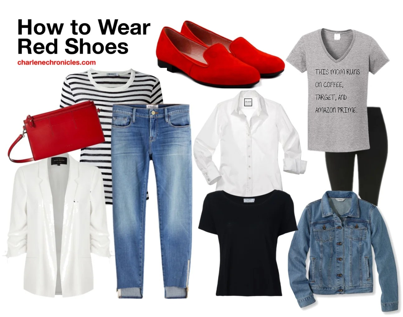 What To Wear With Red Shoes Charlene Chronicles