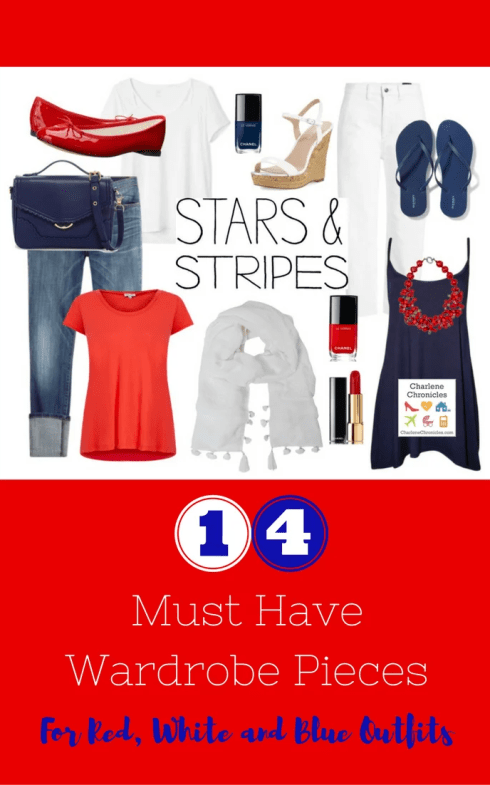 Outfit Ideas for the Fourth of July - Charlene Chronicles