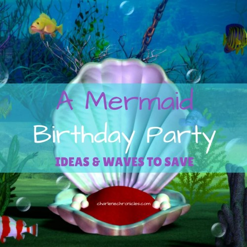 mermaid birthday party favors
