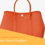 Hermes Garden Party Sizes and Prices
