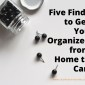 Five Finds to Get You Organized