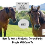 How to Host a Kentucky Derby Party