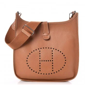 hermes evelyne gold