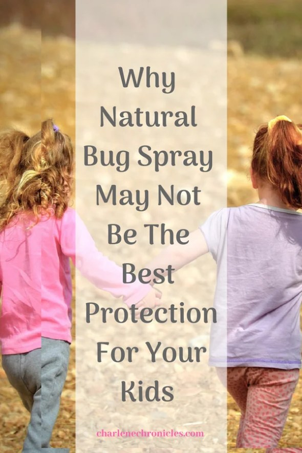 Why Natural Bug Spray May Not Be The Best Protection