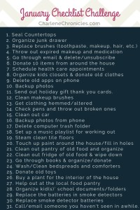how to get organized with these tips from Charlene Chronicles