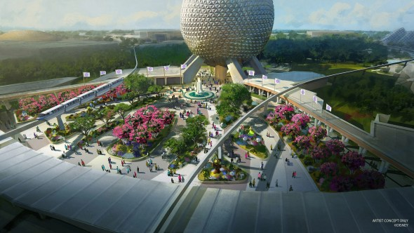 Epcot renovations