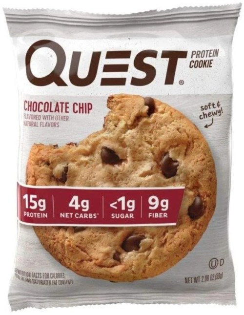 high protein cookies snacks