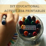 DIY Educational Activities for Homeschool or Rainy Days