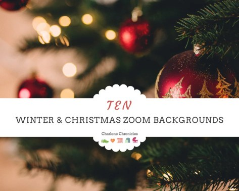 Christmas Zoom Backgrounds
