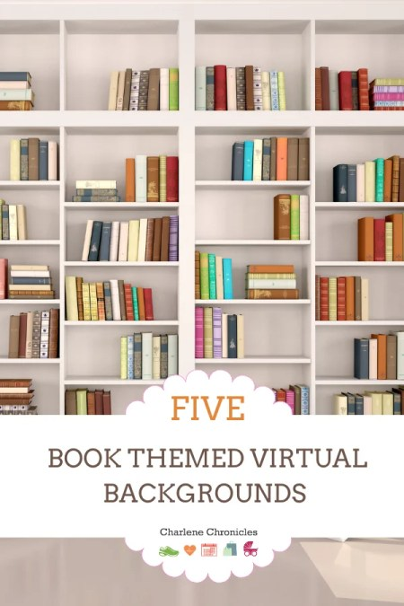 book themed virtual background