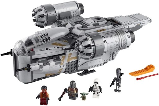 LEGO Star Wars The Razor Crest Construction Toy of the Year 2021