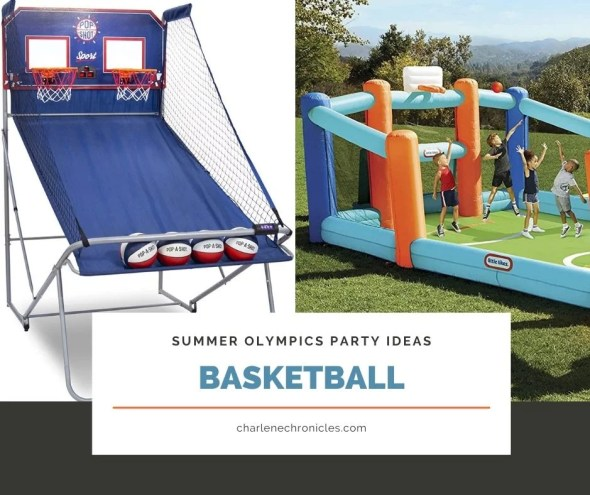 summer olympic themed party ideas basketball