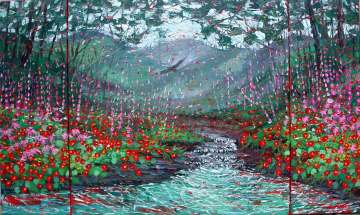 oil paintings plein air studio oil paintings by Charlene Marsh