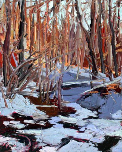 Plein air oil painting Charlene Marsh