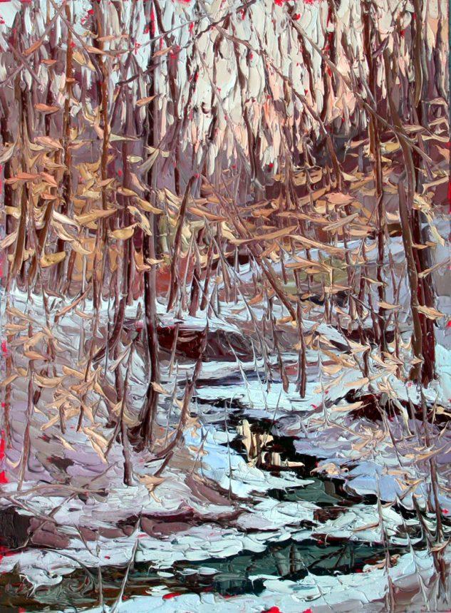 Plein air studio oil paintings Plein air oil painting by Charlene Marsh