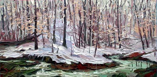 Plein air oil painting by Charlene Marsh