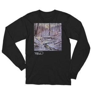 Winter Snow Forest Unisex Long Sleeve T-Shirt