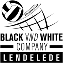 Logo Black and White company Lendelede