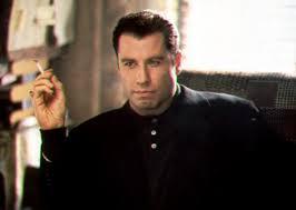John Travolta as Chili Palmer in Get Shorty