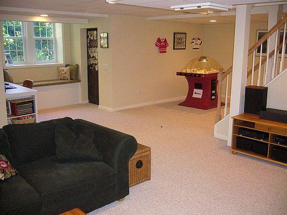 low basement ceilings