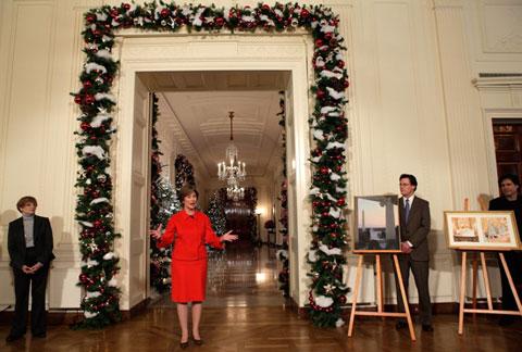 white-house-christmas-decorating ideas