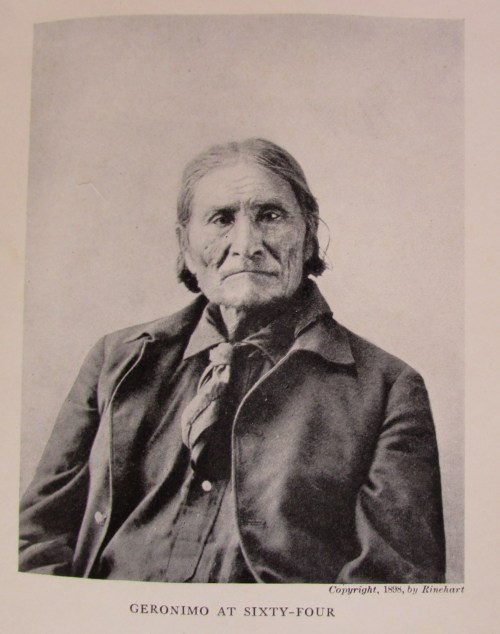 """Geronimo at Sixty-Four,"" from Bronco Pegasus, by Rinehart, 1898"
