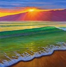 Santa Monica Summer Sunset