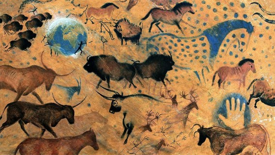 25,000 B.C.E after Early Human Cave Paintings