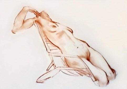 Nude Beach Chair Lounge