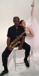 Charles with San Diego Ballet, Artistic Director Javier Velasco.