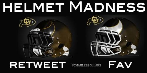Colorado Buffs helmet madness 24