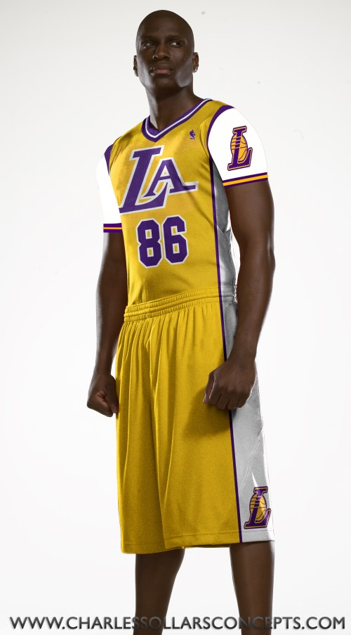 lakers sleeved 9