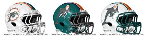 nfl 3 helmet dolphins
