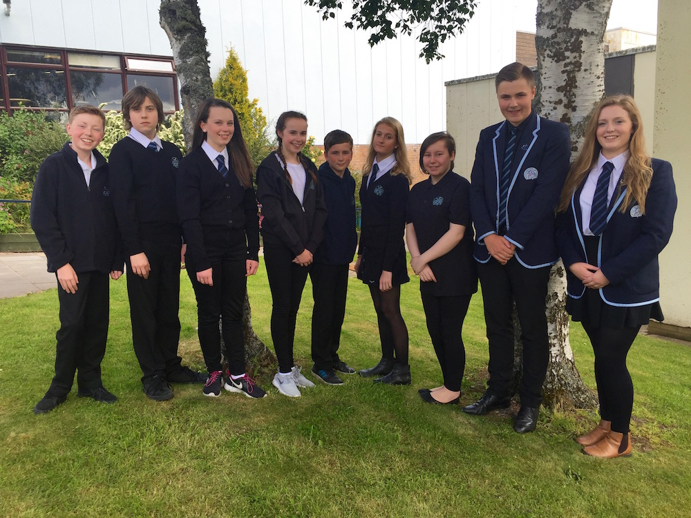 Pupils show off a variety of Dress Code items