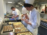 Canapes for fifty guests