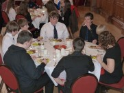 The students loved the food