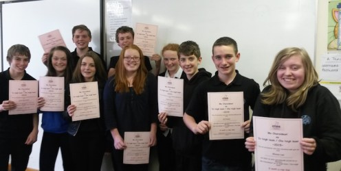 S2 writing competition June 2015