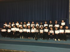 Blythswood Certificates for S1 Laggan
