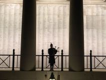 Piping at the Menin Gate